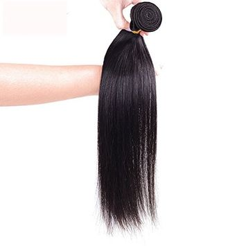 6A Remy Brazilian Virgin Human Hair Extension 8~30 inches, Mixed Length, 50g/Bundle, Natural Color Weft (10