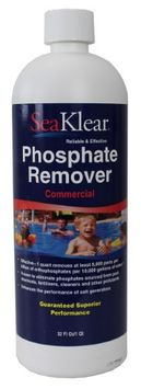 HaloSource SeaKlear 1040105 Commercial Strength Phosphate Remover Quart Bottle
