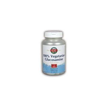 100% Vegetarian Glucosamine Kal 60 Tabs