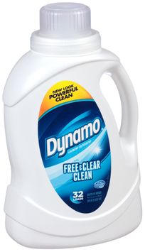 Dynamo® with Free & Clear Clean Laundry Detergent