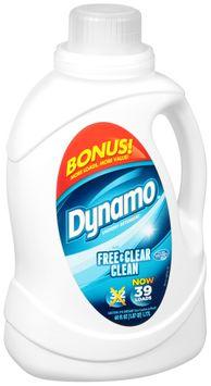 Dynamo® Free & Clear Clean Liquid Laundry Detergent