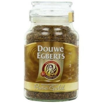 Douwe Egberts Pure Gold Instant Coffee, Medium Roast, 7.05-Ounce, 200g [200 g]
