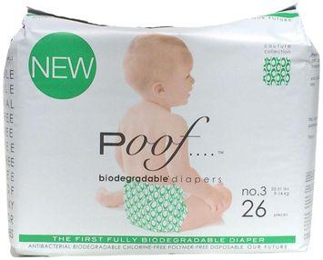 Poof Diapers - Loops - 26 ct.