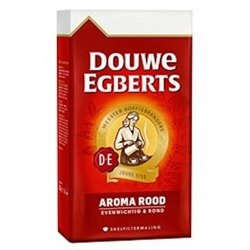 Douwe Egberts Aroma Rood Ground Coffee, 8.8-ounce Packages (Pack of 4) ...