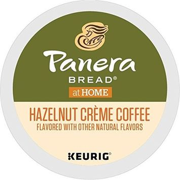 Panera Bread Single Serve K Cup Pod Flavored Coffee, Hazelnut Crème, 32Count []