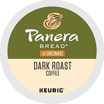 Panera Bread Coffee Dark Roast, Single Serve Coffee K Cup Pods for Keurig Brewers, Dark Roast, 72Count [Dark Roast]