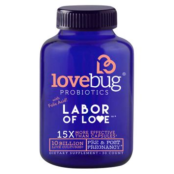 Lovebug Probiotics LoveBug Probiotic Labor of Love - 30ct