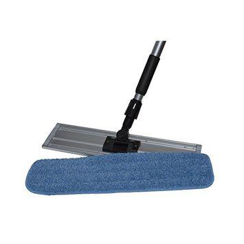 Nine Forty | Industrial | Commercial Microfiber Hardwood Floor Dust Mop with Handle for Floor Cleaning Set | 24