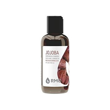 Rocky Mountain Oils - Jojoba Oil - 4oz - 100% Pure and Natural Carrier Oil