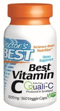 Doctor's Best - Best Vitamin C 1000 mg. - 360 Vegetarian Capsules
