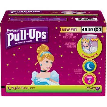 Kimberly-clark HUGGIES Pull-Ups Girls' Night-Time Training Pants, Giga Pack, (Choose Your Size)