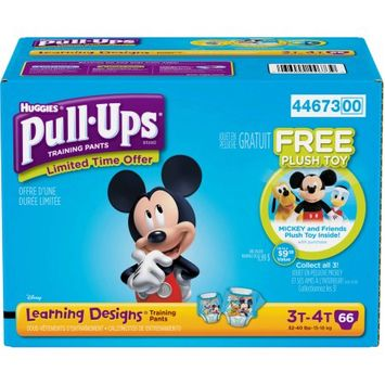 Kimberly-clark HUGGIES Pull-Ups Boys' Learning Designs Training Pants, (Choose Your Size)