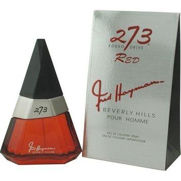 FRED HAYMAN 273 RED by Fred Hayman COLOGNE SPRAY 2.5 OZ - MEN