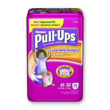 Huggies Pull-Ups - Training Pants Girls/Pack of 18 [1]