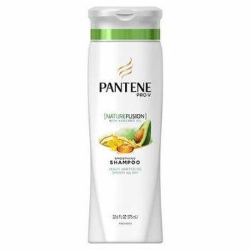 Pantene Pro-V Nature Fusion Smoothing Shampoo with Avocado Oil 12.6 oz.(pack of 6)