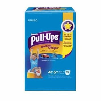 Pull-ups learning designs training pants 4t-5t, boy jumbo pack part no. 45143 (18/package)