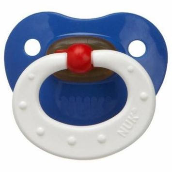 NUK Classic Latex BPA Free Pacifier, 6 Months - 1pk