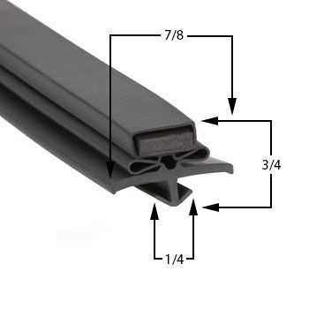 True TSSU3612M Door Gasket Part# (810713)
