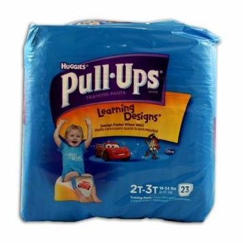 Huggies Pull-Ups Training Pants - Learning Designs - Boys - 2T-3T - 25 Count