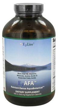 E3Live - E3 AFA 500 mg. - 500 Vegetarian Capsules