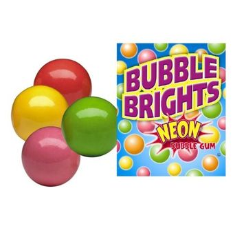 Sweetworks Oakleaf Bubble Brights Gumballs, 5LBS