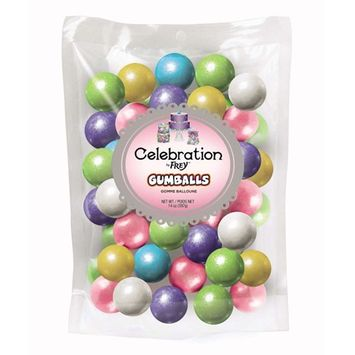 Shimmer Spring Mix Bubble Gum Gumballs - 14 Oz Bag