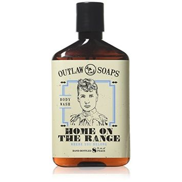 Home on the Range Natural Body Wash: smells like peace, happiness, and memory