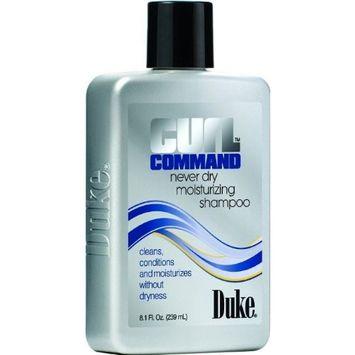 Duke Curl Command Never Dry Moisturizing Shampoo(8.1oz,pack of 2pc)