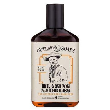 Blazing Saddles Natural Body Wash - The Sexiest Body Wash Ever - Western leather, gunpowder, sandalwood, and sagebrush - men's and women's body wash