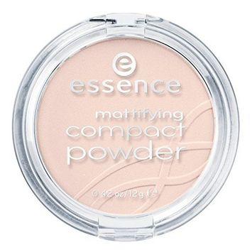 essence Mattifying Compact Powder, 10 Light Beige by essence cosmetics