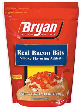 Bryan Real Smoke Flavoring Added Bacon Bits