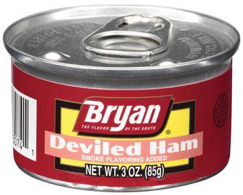 Bryan Smoke Flavoring Added Deviled Ham