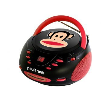 Paul Frank Stereo CD Boombox with AM/FM Radio - PF224BK