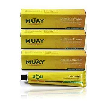 Namman Muay Thai Boxing Cream Balm Massage Relief Ache 100g pack of 3