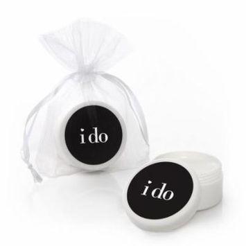 I Do - Lip Balm Wedding Favors (Set of 12)