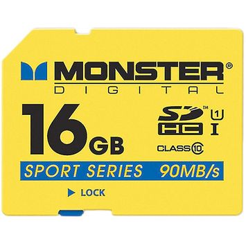 Monster Cable 16GB SDHC FS SD Card Sport90
