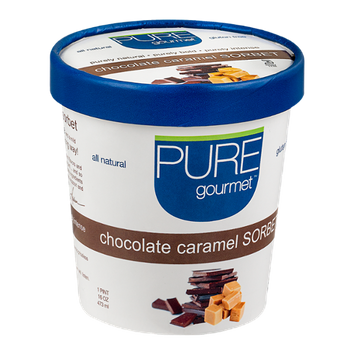 Pure Gourmet Sorbet Chocolate Caramel