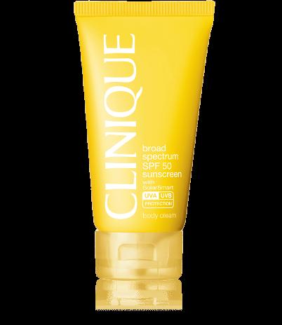 Clinique Broad Spectrum SPF 50 Sunscreen Body Cream