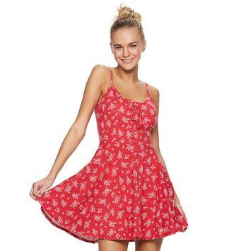 Junior's American Rag Corset Front Dress
