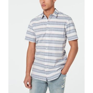Men's Fin Striped Shirt, Created for Macy's