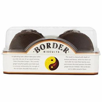 Border Biscuits The Legendary Dark Chocolate Ginger 175 G (Pack of 6)