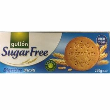 Gullon SUGAR FREE Digestive Biscuits 250g (Pack of 3)