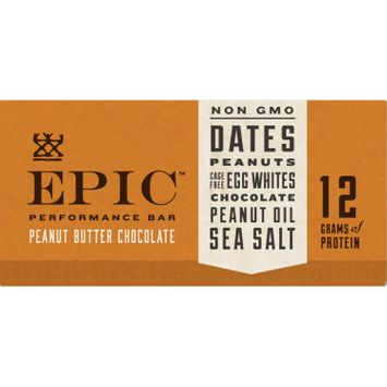 EPIC Peanut Butter Chocolate Performance Bar 9 Count