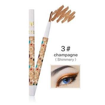 Alonea Beauty Highlighter Eyeshadow Pencil Cosmetic Glitter Eye Shadow Pen