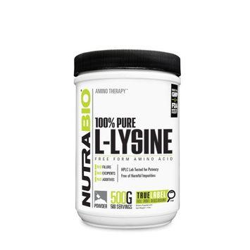NutraBio Amino Therapy 100 Pure L-Lysine