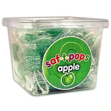 Saf-T-Pops 60 ct tub Blueberry & Vanilla Swirl flavor