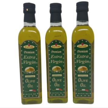 Forrelli Premium Cold Pressed Extra Virgin Olive Oil 17 fl. oz. (3 Pack)