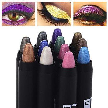 Alonea Beauty Eyeshadow Pencil Cosmetic Glitter Eye Shadow Pen