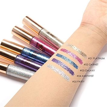 Alonea High Pearl Eyeliner Diamond Eyeliner & Eyeshadow Gel Pack of 5