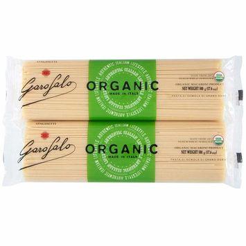 Garofalo Organic Spaghetti Noodles 17.6 oz, 8-count- (Bundle/Pack of 8) Italian Cousine